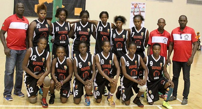 guinée_selection feminine de basket