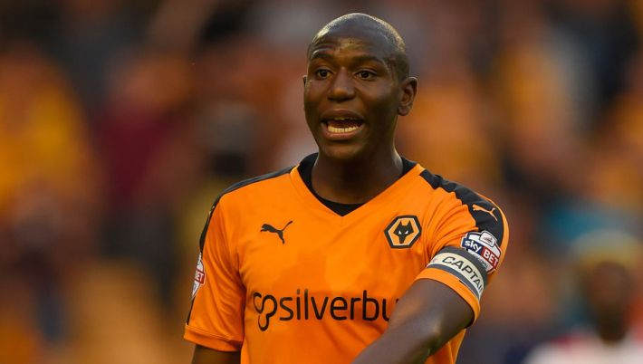 <> at Molineux on August 11, 2015 in Wolverhampton, England.