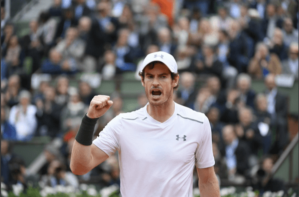 Andy Murray-Roland-Garros