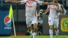 Ahmed Akaichi avec Ali Maaloul (TUN) - Joie