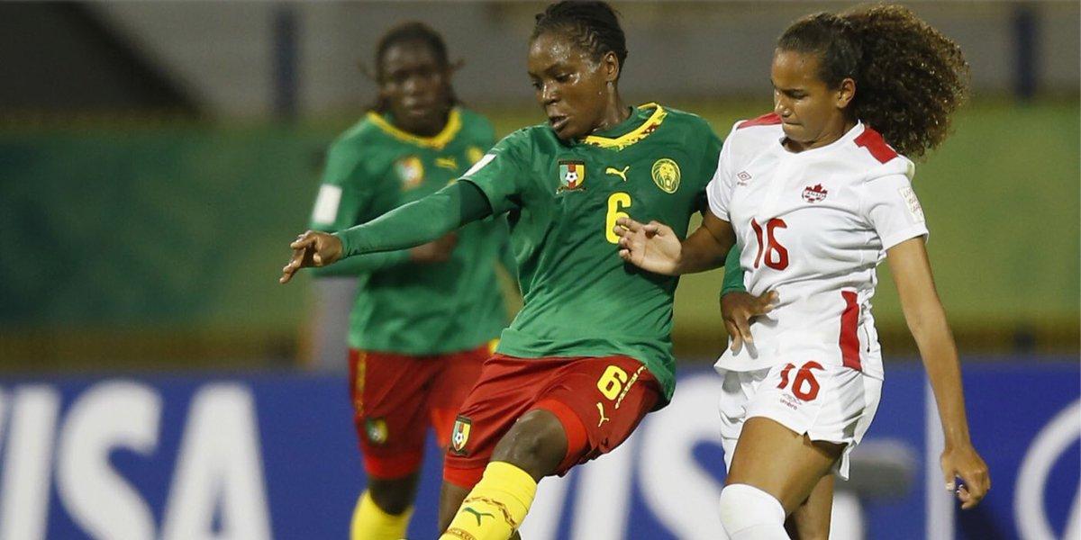 Coup d'envoi de la CAN féminine — Cameroun
