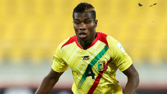 during the FIFA U-20 World Cup New Zealand 2015 Round of 16 match between Ghana and Mali at Wellington Regional Stadium on June 10, 2015 in Wellington, New Zealand.