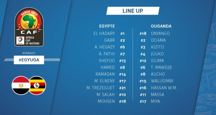 egypte vs ouganda