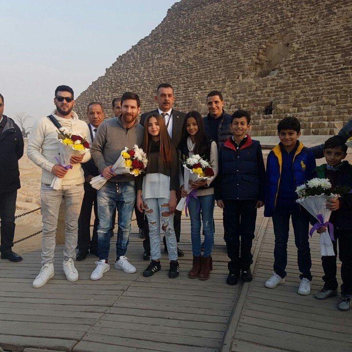 Lionel Messi en lutte contre l'Hépatite C — Afrique Egypte