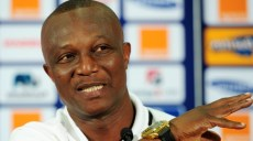Kwesi Appiah coach of Ghana during the 2013 Orange African Cup of Nations Ghana Press Conference on the 01 February 2013, Nelson Mandela Bay Stadium Port Elizabeth ©Muzi Ntombela/BackpagePix