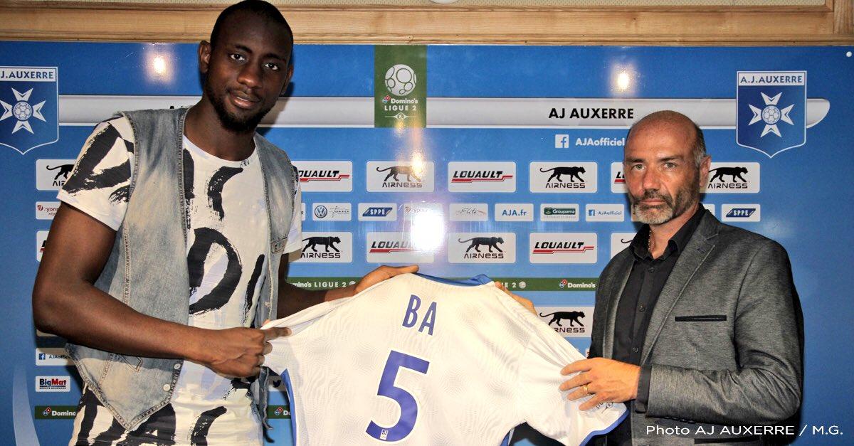 Le Mauritanien file à Auxerre — Afrique Abdoul Ba