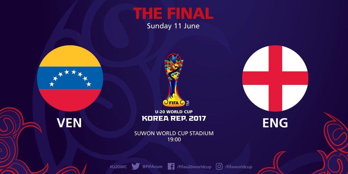 Finale inédite Venezuela - Angleterre