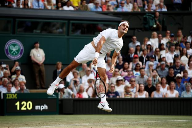 Wimbledon : Milos Raonic retrouvera Roger Federer en quarts de finale