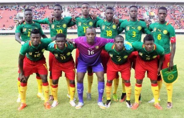 L'équipe nationale Espoirs du Cameroun