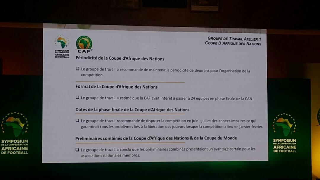 La Coupe d'Afrique des nations déplacée de janvier à juin