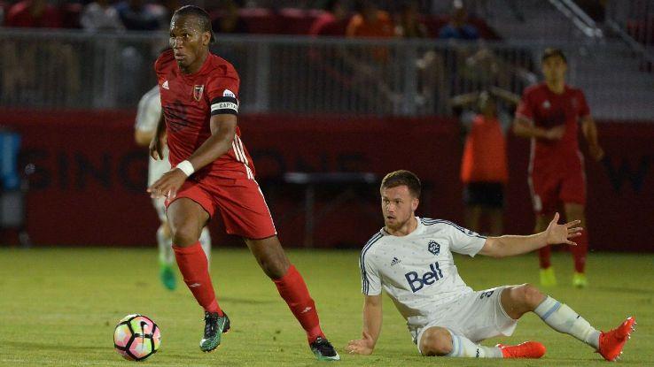 Etats-Unis Didier Drogba: Un superbe coup franc avec Phoenix ! Regardez