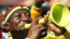 WC2010 : Serbie / Ghana - Coupe du Monde 2010 - 13.06.2010 - Pretoria - Supporter