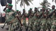 Les militaires gabonais