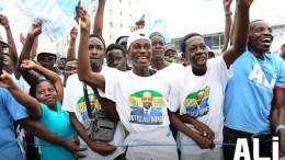 Les jeunes qui ont voté Ali Bongo Ondimba