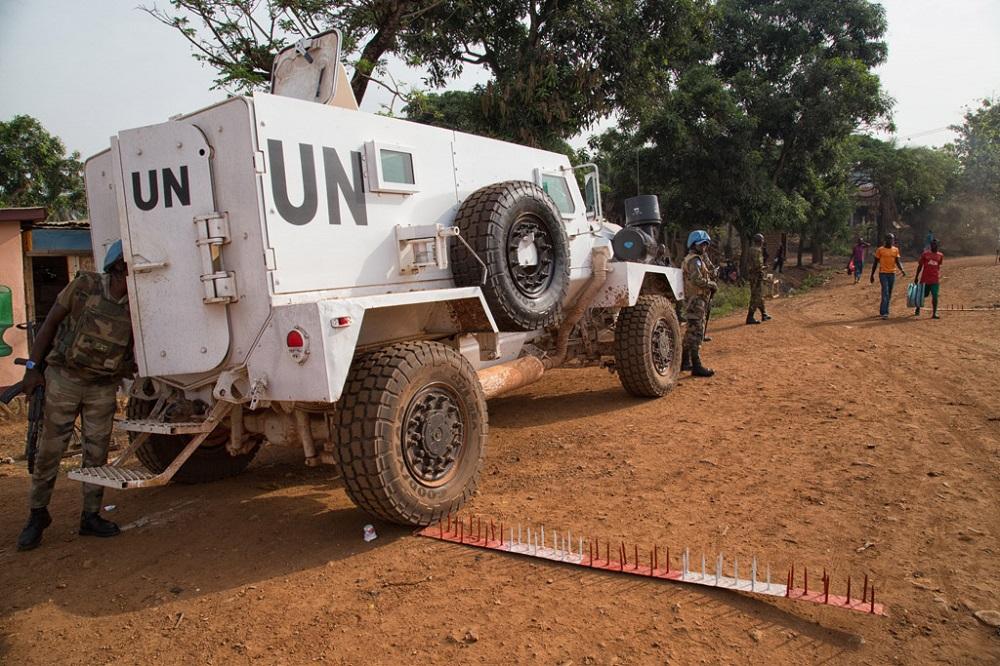 Bangui - Centrafrique: 4 civils tués, 14 blessés dont cinq Casques bleus