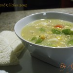 Corn and Chicken Soup by Afrolems