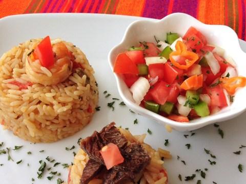 Kenyan pilau rice dish