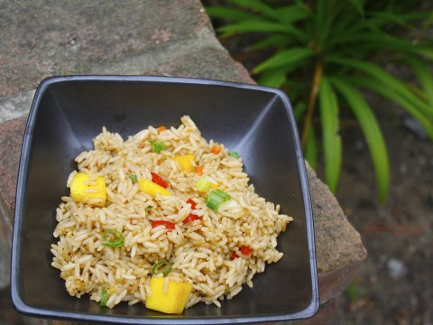 healthy mango fried rice