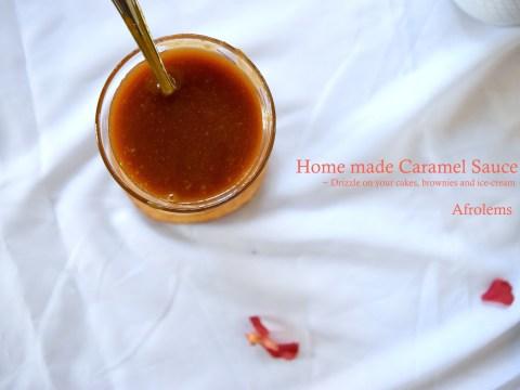 home made caramel sauce