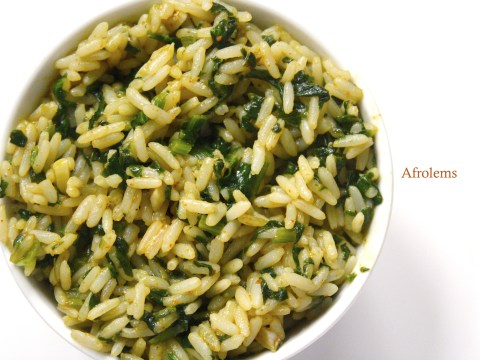 nigerian vegetable rice