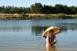 Summer Dam Swimming Afrosol