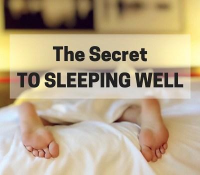 The BIG SecretTO SLEEPING WELL (1)