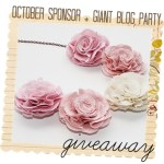 October Giveaway 3: Choice of Color Blossom Necklace