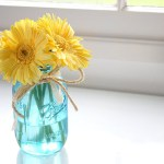Guest Tutorial: Colored Mason Jar
