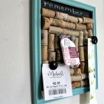 Wine Cork Board DIY