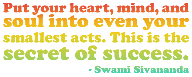 Put Your Heart Quote