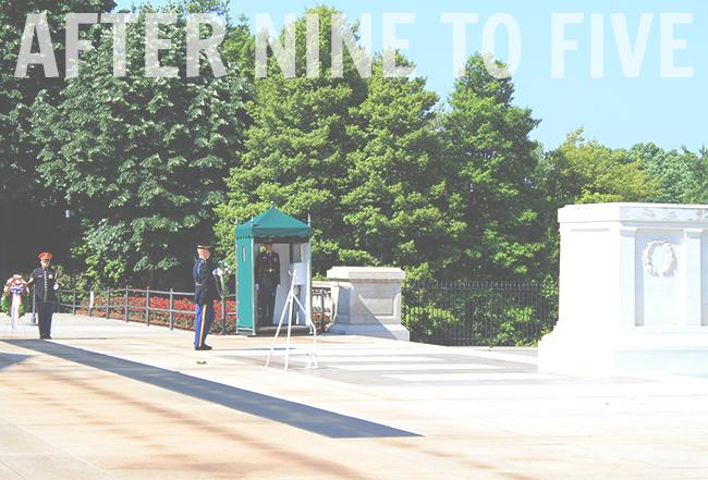 Arlington Guards and Tomb