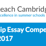 Win a Scholarship. Apply for the Reach Cambridge Summer Scholarship Essay Competition 2017