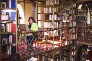 The A.D. White Library within Uris Library at Cornell