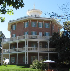 The historic Octagon at the Mount Washington Conference Center