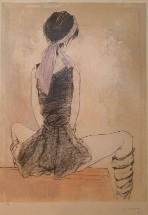 ジャンセン「ターバンを巻いた踊り子」