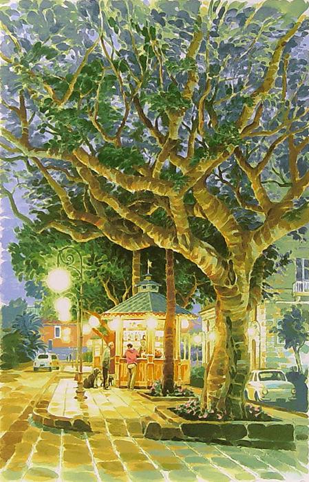"""大きな木と小さなカフェ - """"Tiny Cafe"""""""