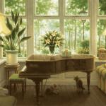 笹倉鉄平最新作「ピアノのある部屋」