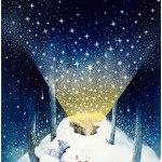 小島加奈子「届きますように(38.0×26.0cm)」