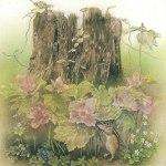 小島加奈子「花まつり(35.6cm×30.0cm)」