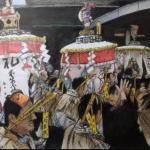 吉川幸作「博多松囃子(キャナル前)」