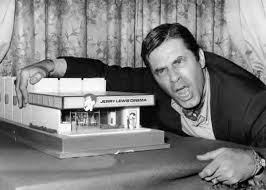 Jerry Lewis with Cinema Model