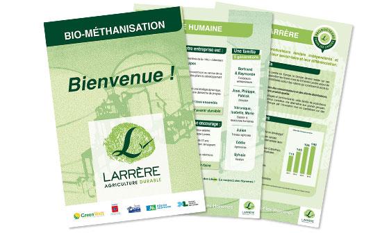 Larrère : bio-méthanisation