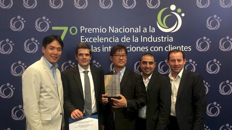 Digitex recibió premio Nacional a la Excelencia de la Industria en las interacciones con clientes