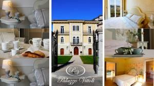 Le suite di Palazzo Vittoli a Castelfranci