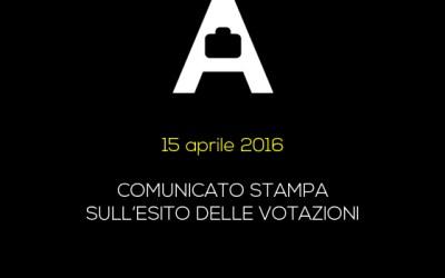 ESITO VOTAZIONI ENASARCO: COMUNICATO STAMPA