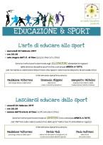 Carta educativa - incontri educazione & sport 2017