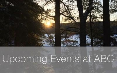Upcoming events at ABC