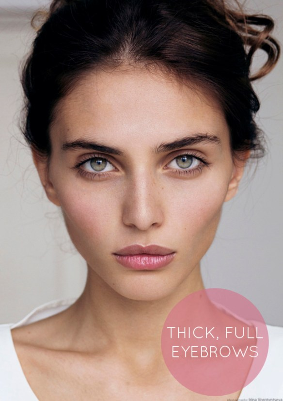 thick full eyebrows bunnyanddolly The New Brow: Update Your Brow Look