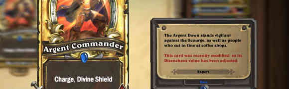 First card you should craft with 100 dust in hearthstone