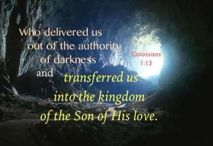 Reigning in Life by Being Ruled in the Sweetness of Love. Col. 1:13, Who delivered us out of the authority of darkness and transferred us into the kingdom of the Son of His love